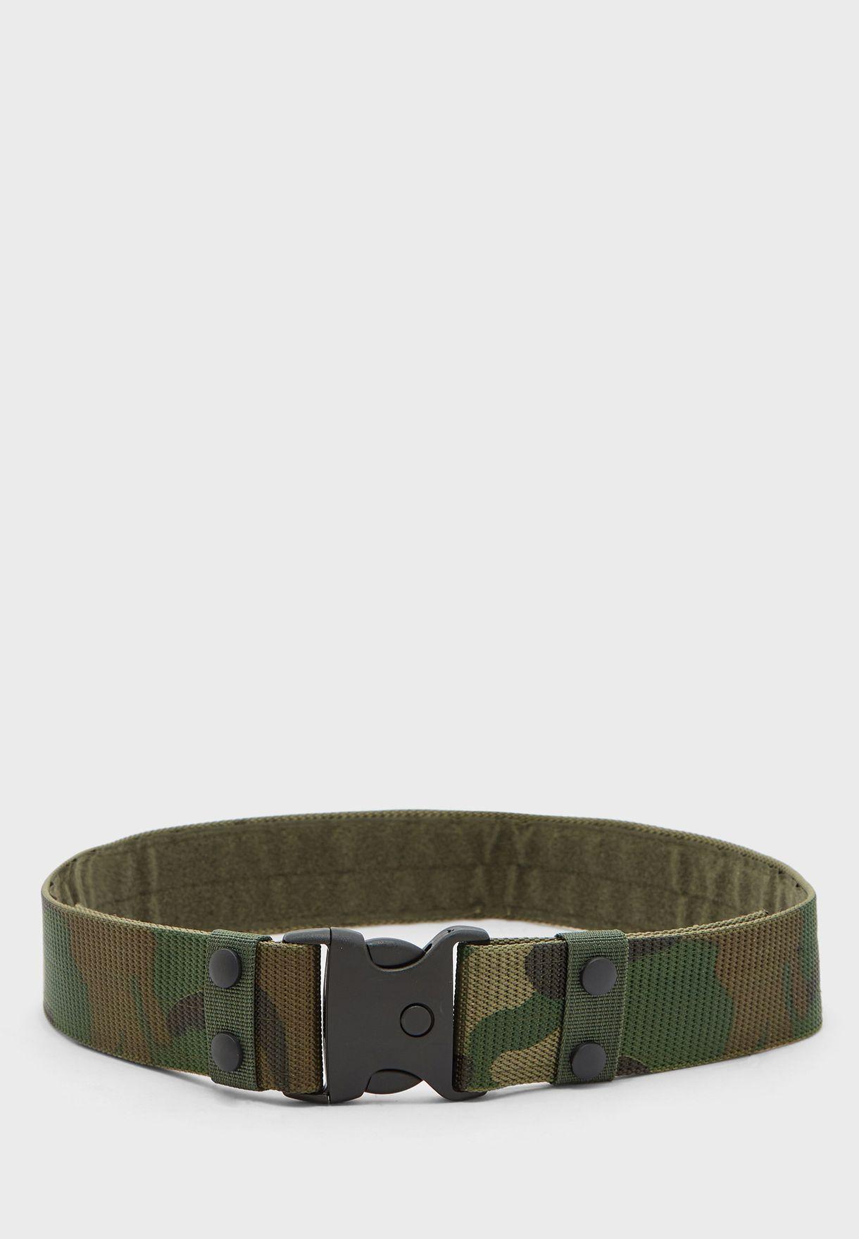 حزام خصر بطبعات جيش