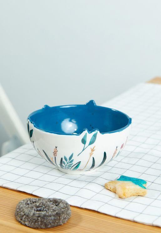 Secret Garden Swan Bowl