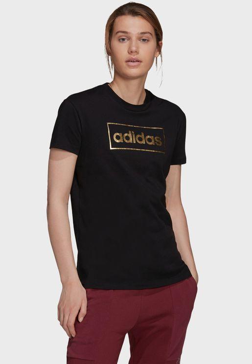 Foil Box Graphic T-Shirt