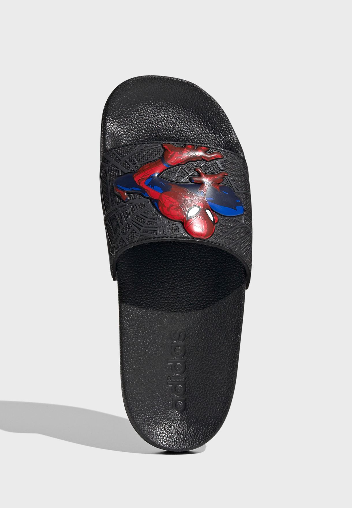 Youth Adilette Spiderman Shower