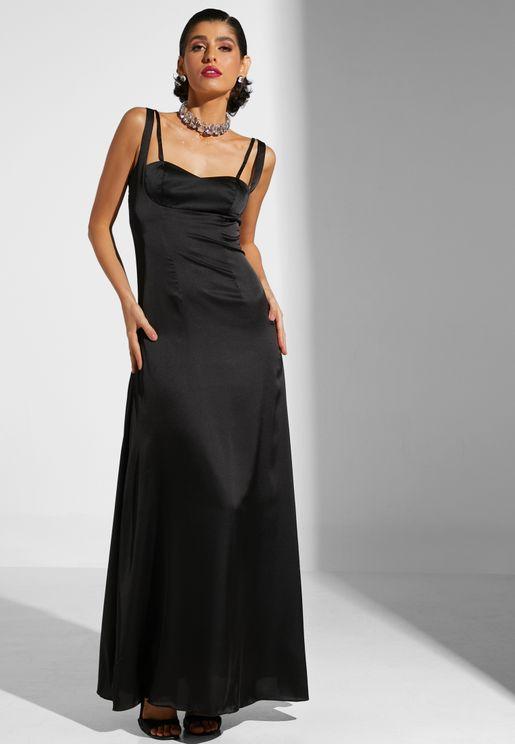 Strappy Evening Dress