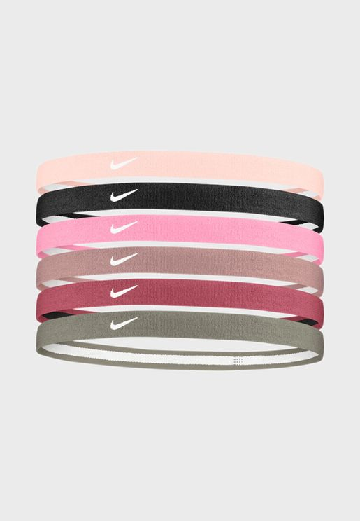 6 Pack 2.0 Swoosh Headbands