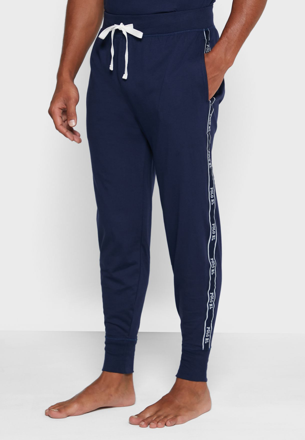 Logo Stripe Sweatpants