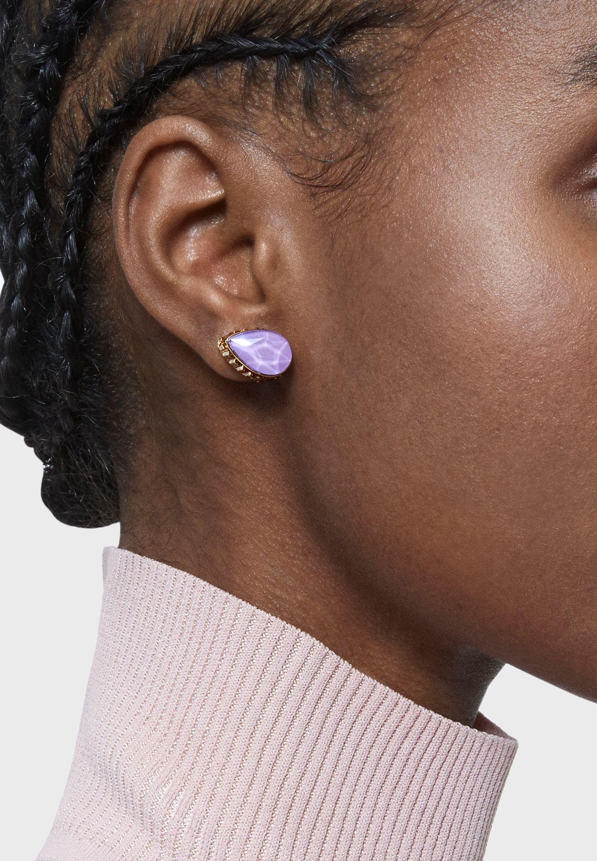 Orbita Drop cut single earring