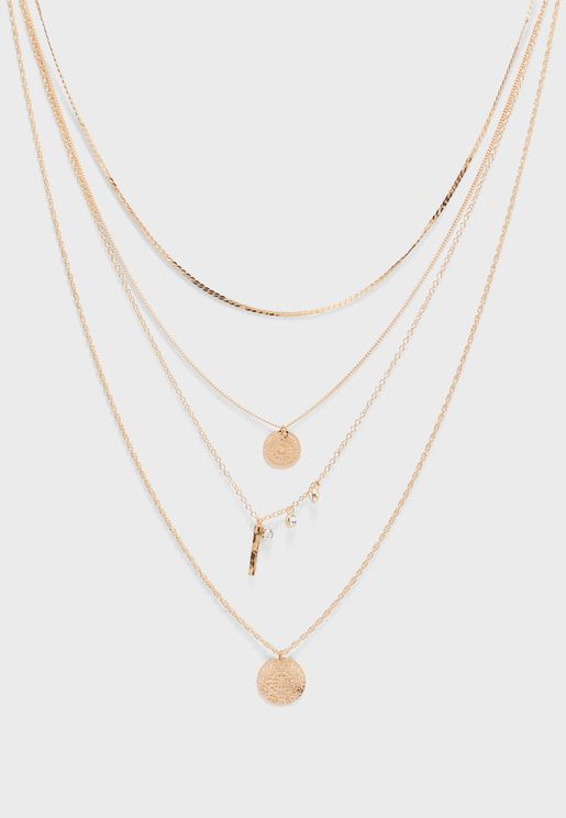 Figa Necklace Set