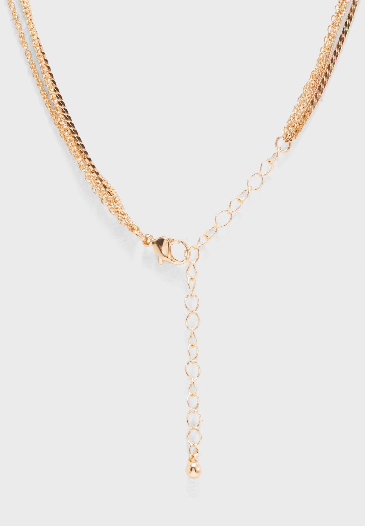 Figa Necklace Set