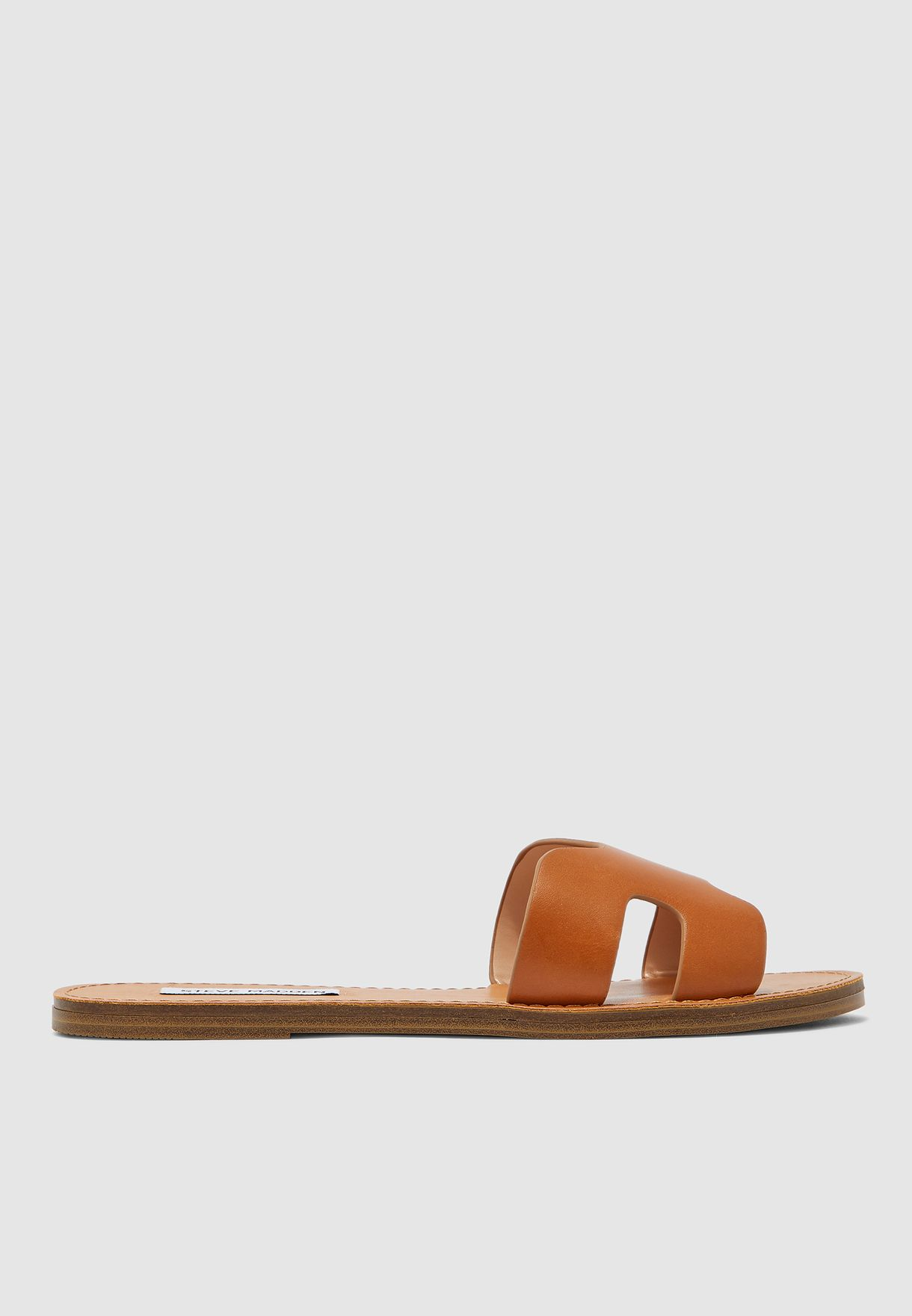 Lisa Flat Sandal - Brown
