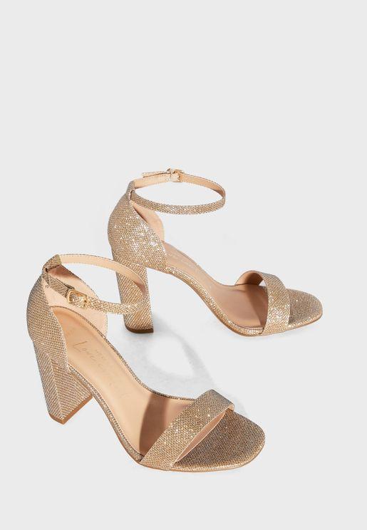 Wide Fit Varona Ankle Strap Sandal