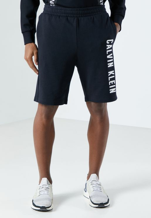 "9"" Side Logo Knit Shorts"