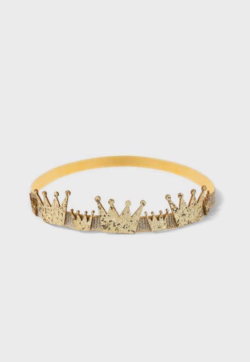 Infant Crown Detail Headband