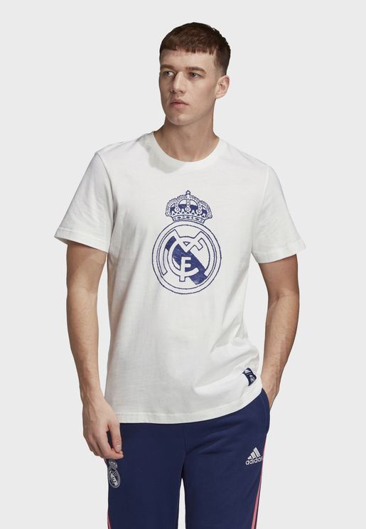 Real Madrid Football Soccer Men's Graphic T-Shirt