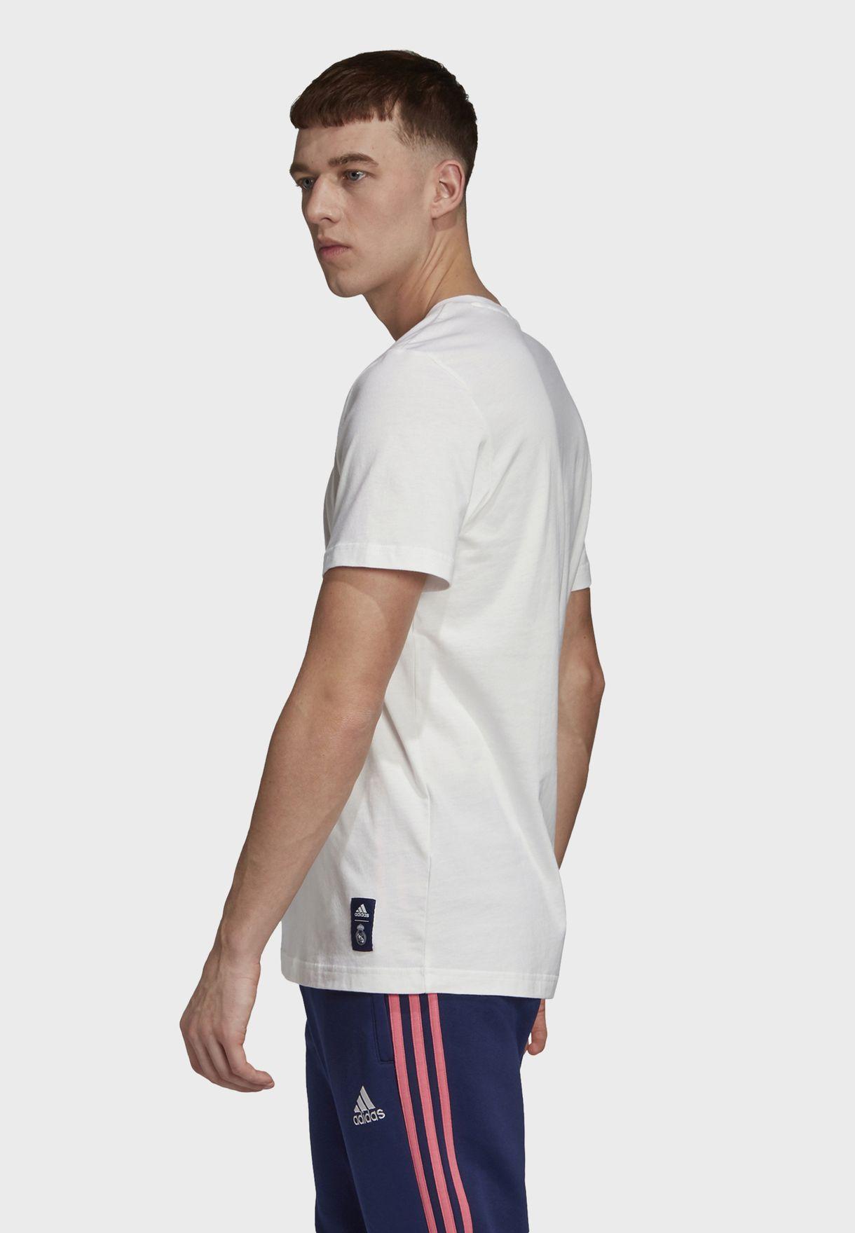 Real Madrid Football Soccer Men's Graphic T-Shirt