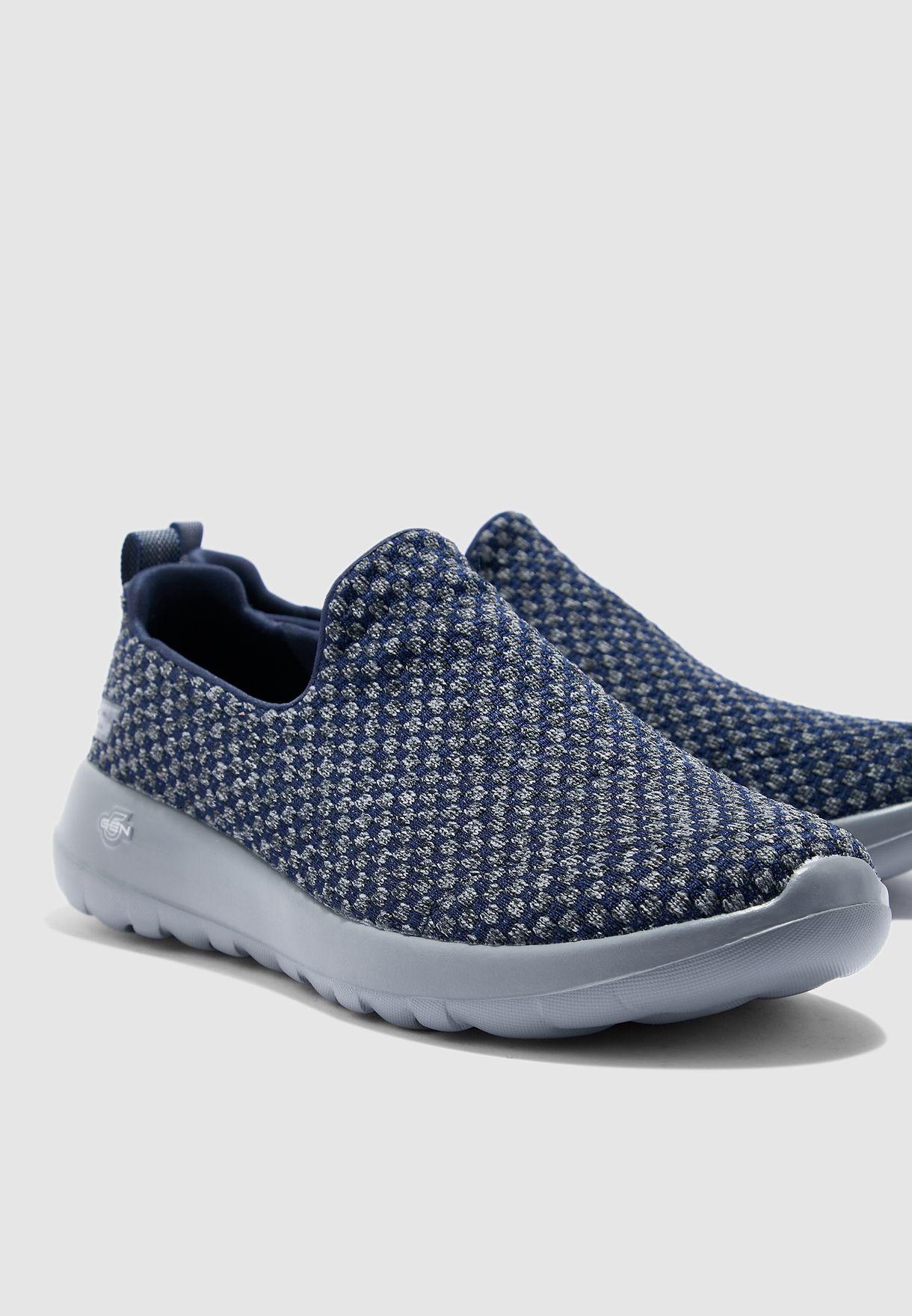 Skechers Go Walk Max Shoes for Men, Blue (Navy), (42 EU AE