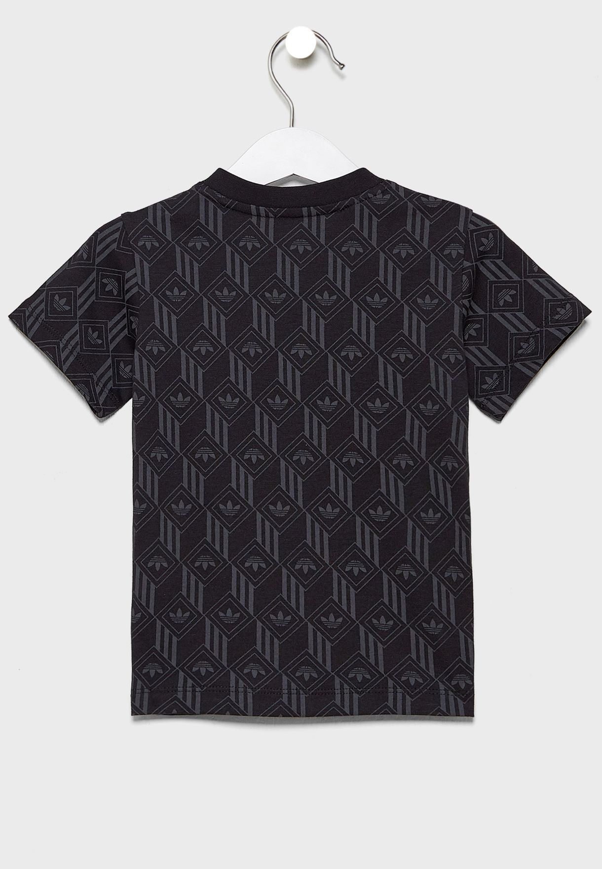 Trefoil All Over Print Casual Kids T-Shirt