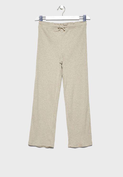 Kids Tie Waist Trousers