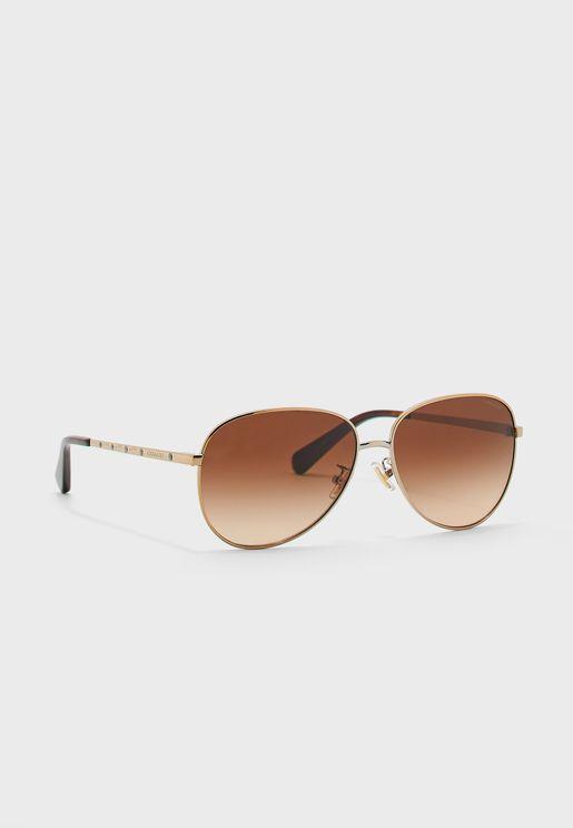 0HC7094 Aviator Sunglasses