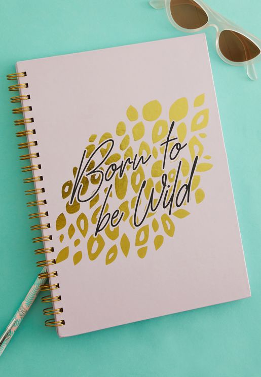 A4 Born To Be Wild Ring Bound Notebook