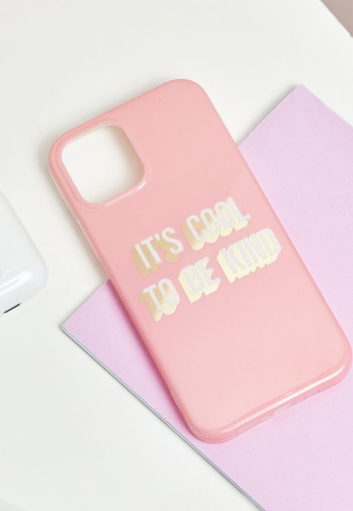 It's Cool To Be Kind IPhone 12 / 12 Pro Case