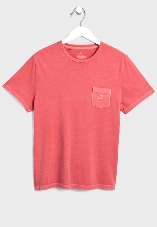Sunfaded Crew Neck T-Shirt