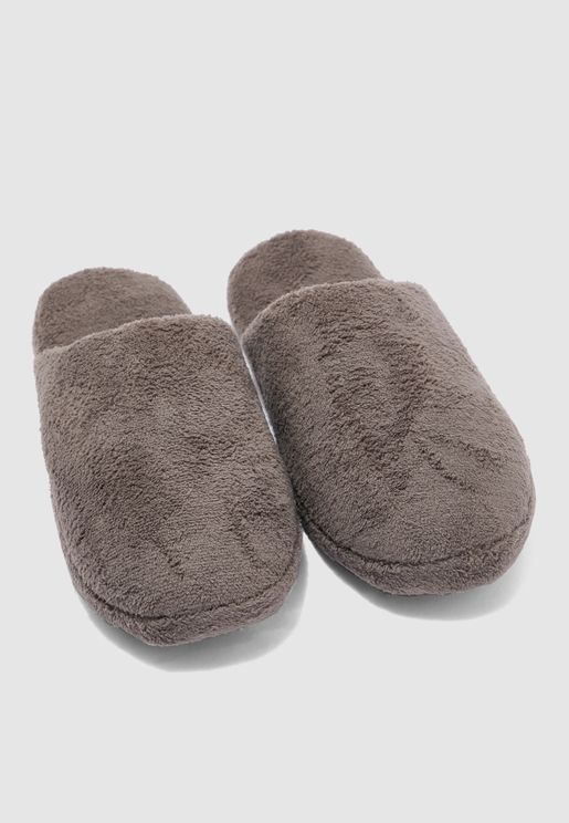 Soft Terry Bedroom Slippers