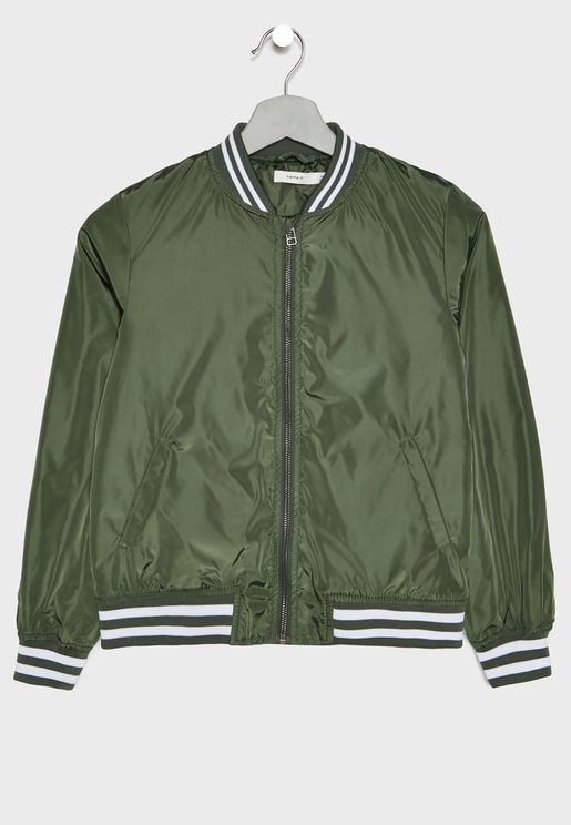 Teen Bomber Jacket