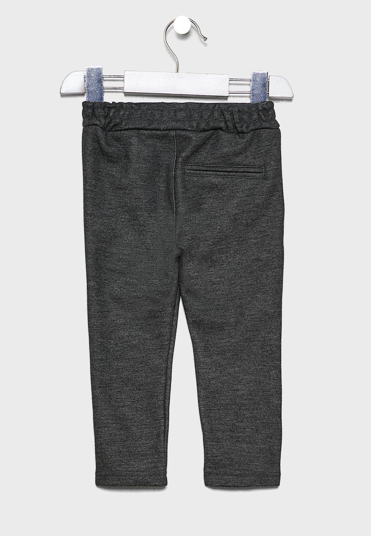 Kids Button Detail Sweatpants