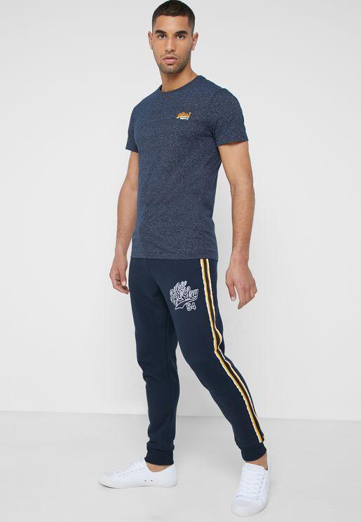 College Side Stripe Sweatpants