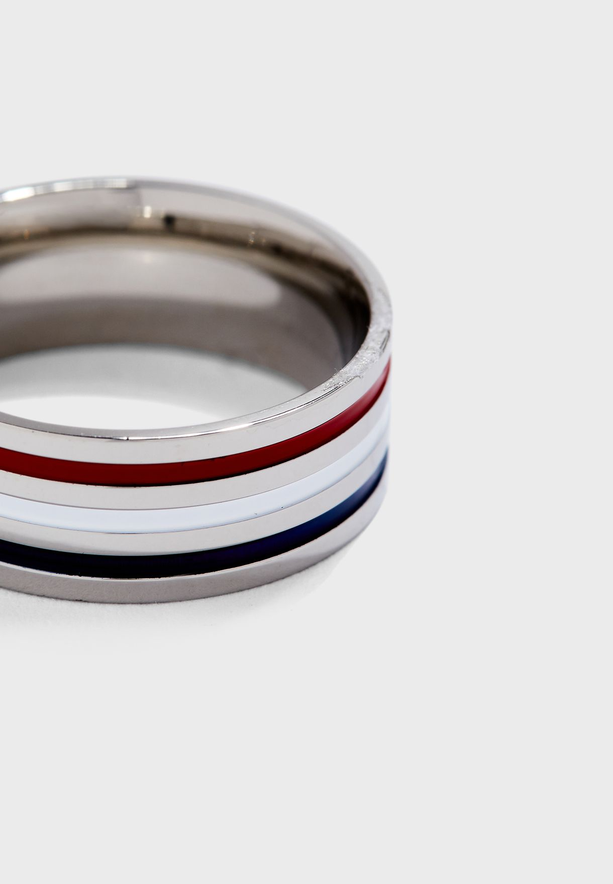 Tricolour Plated Ring