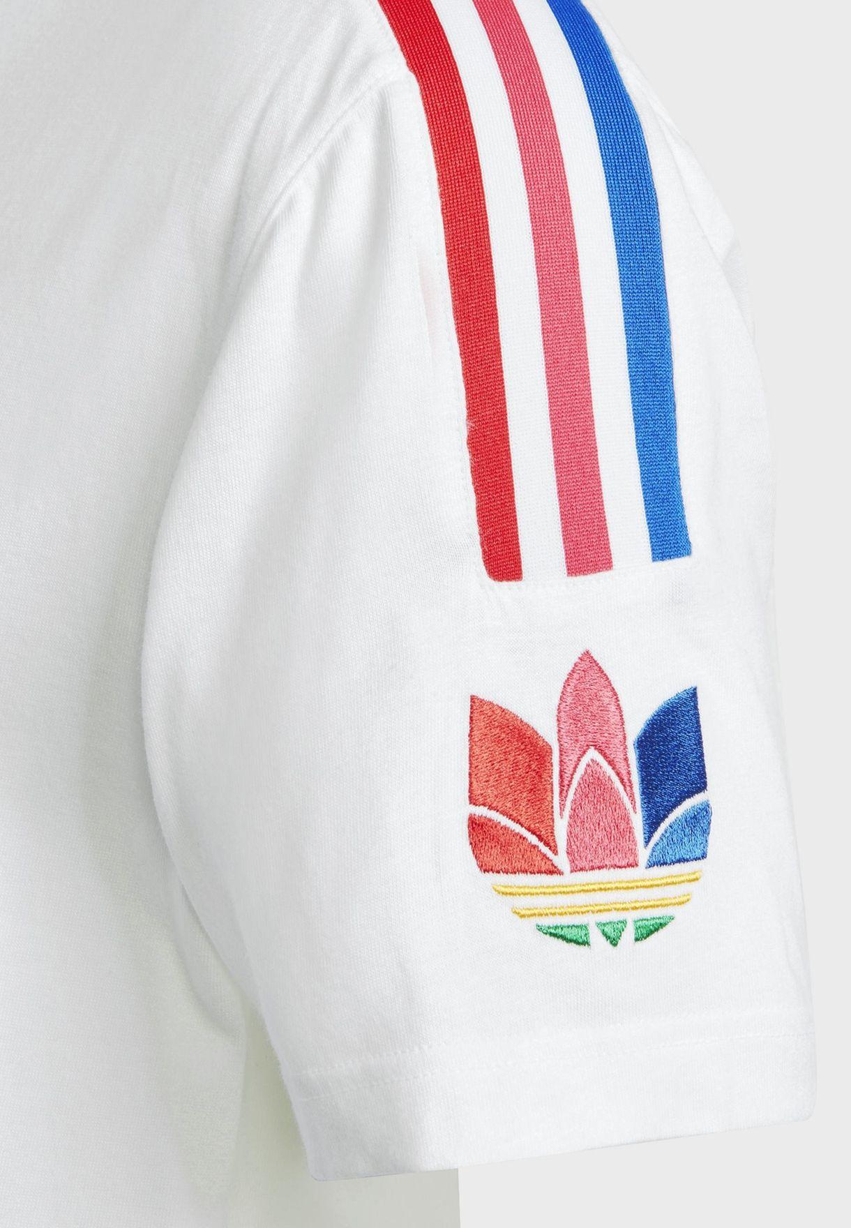 adicolor 3 Stripe Trefoil T-Shirt