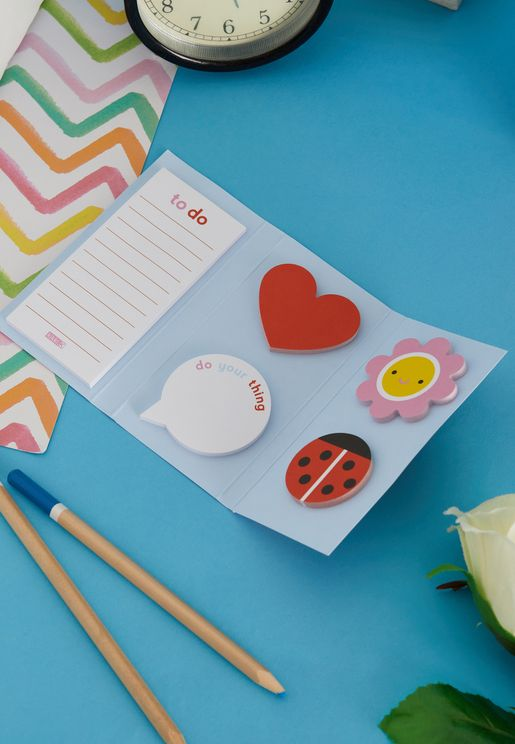 Cute Adhesive Notes Set