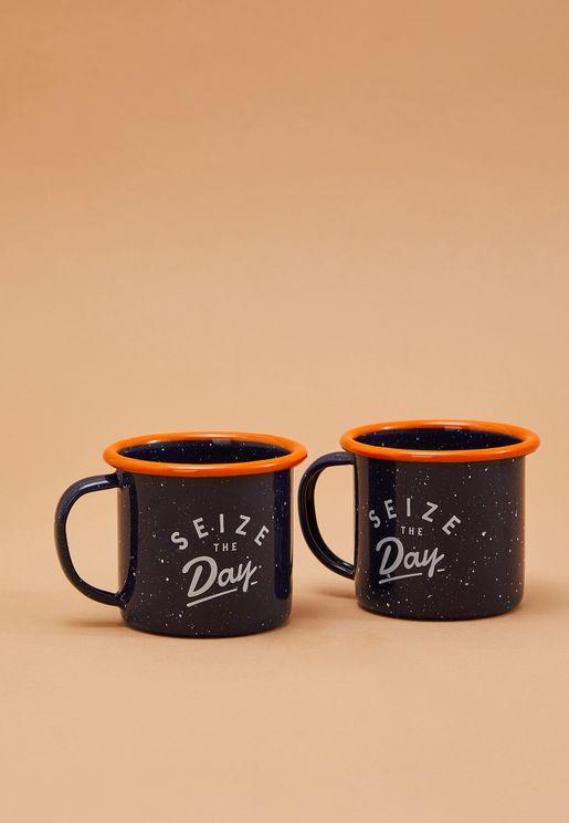 طقم من 2 فنجان للقهوة