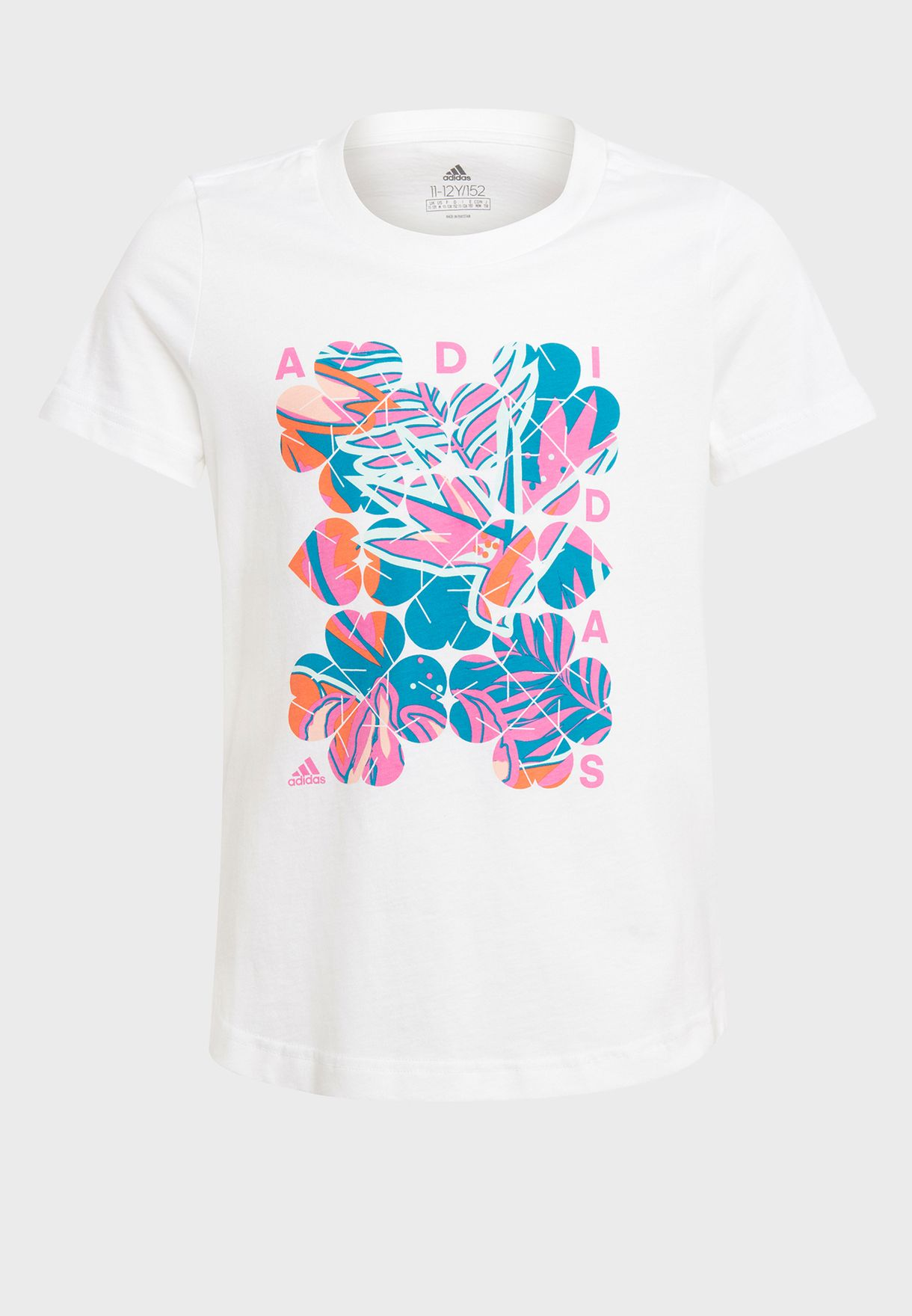 Youth Tropical Graphic T-Shirt