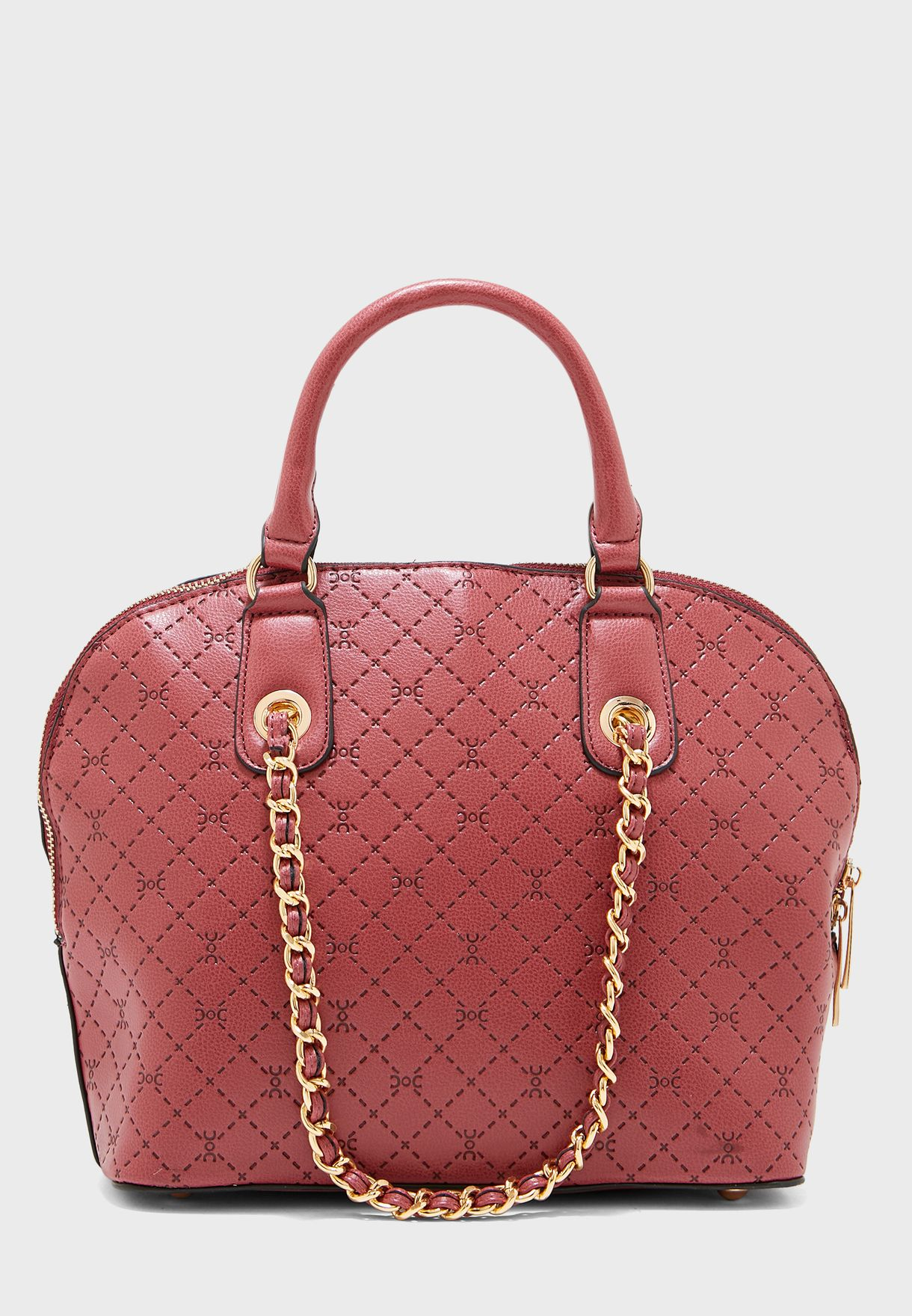 Dome Shape Chain Link Tote