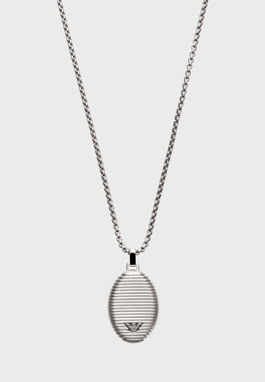 EGS2654040 Oval Pendant Necklace