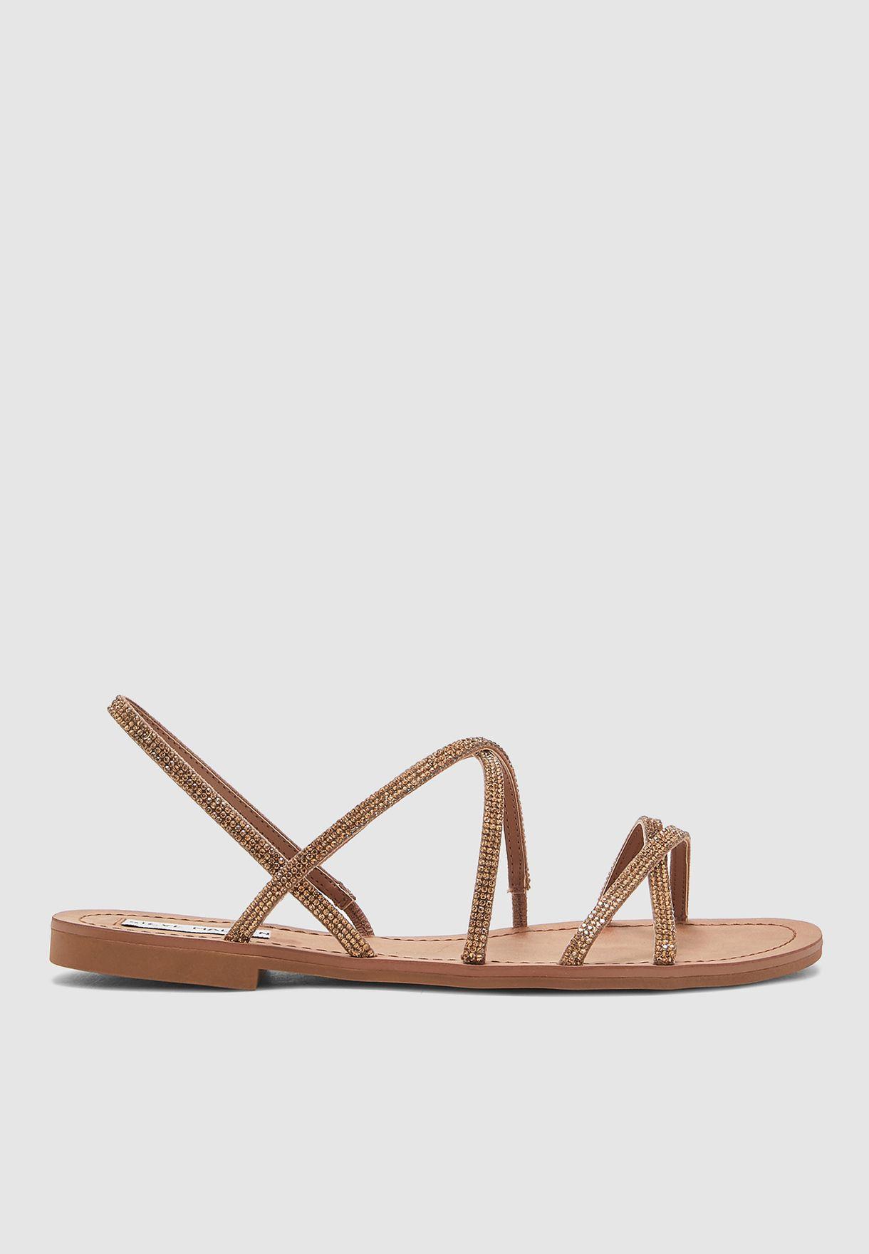Rita Multi Cross Sandal - Bronze