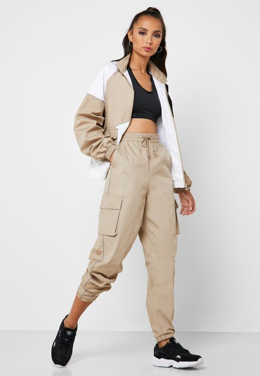 Trefoil Cuffed Pants