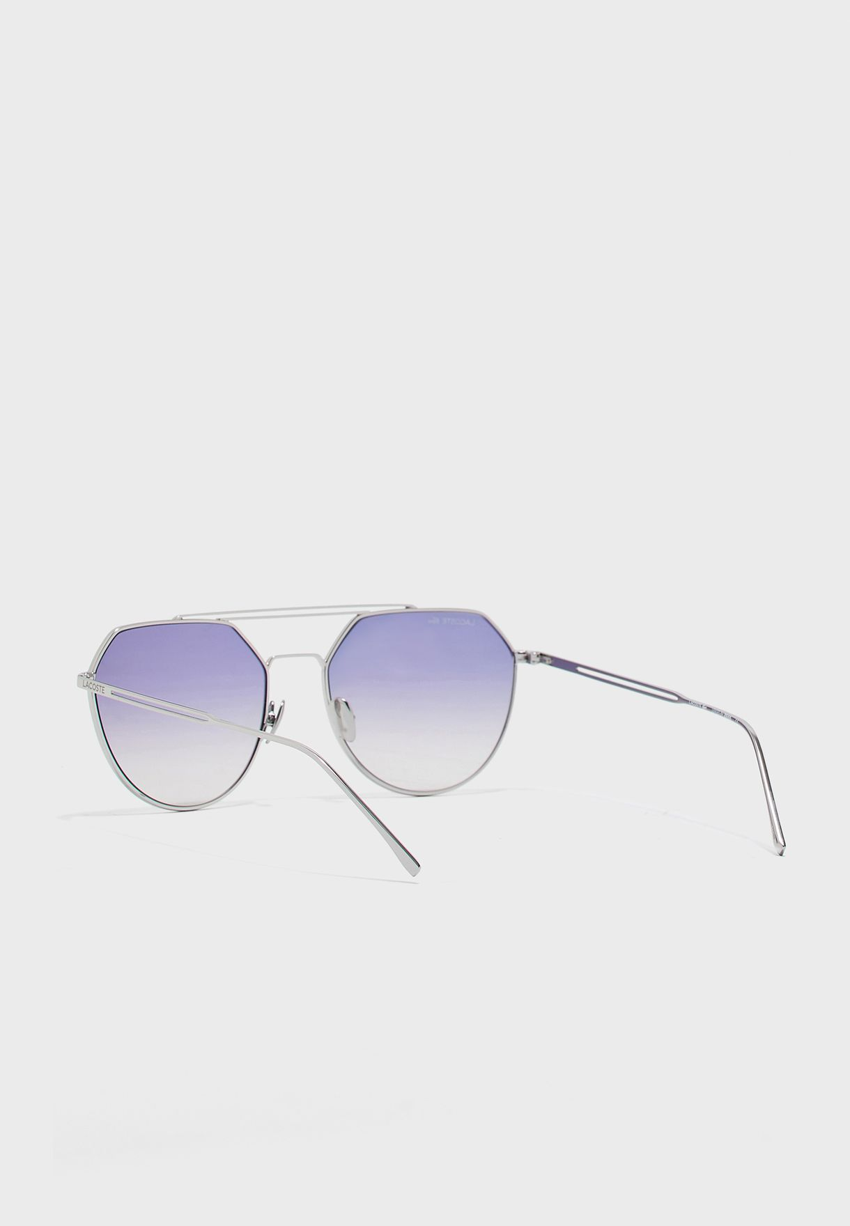 L220SPC Brow Bar Hexa Sunglasses