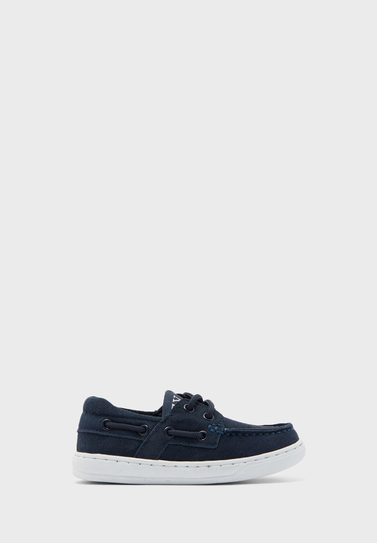 حذاء لوفر جينز للاطفال