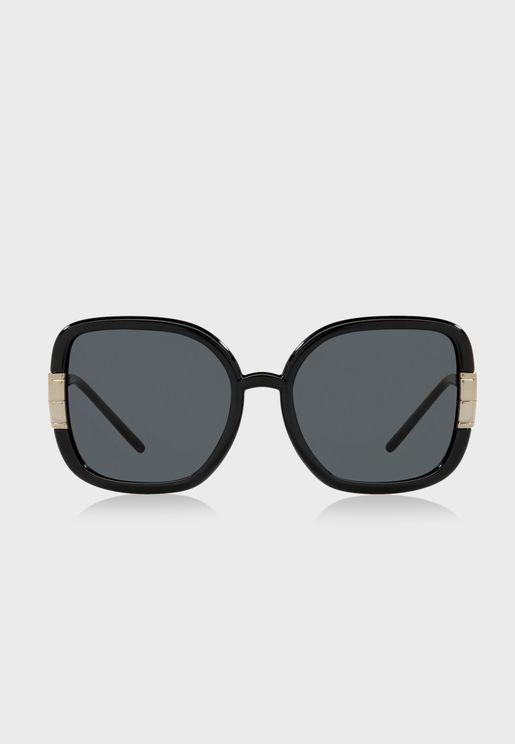 0Ty9063U Oversized Sunglasses