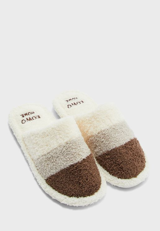 Stripes Men's Bedroom Slippers