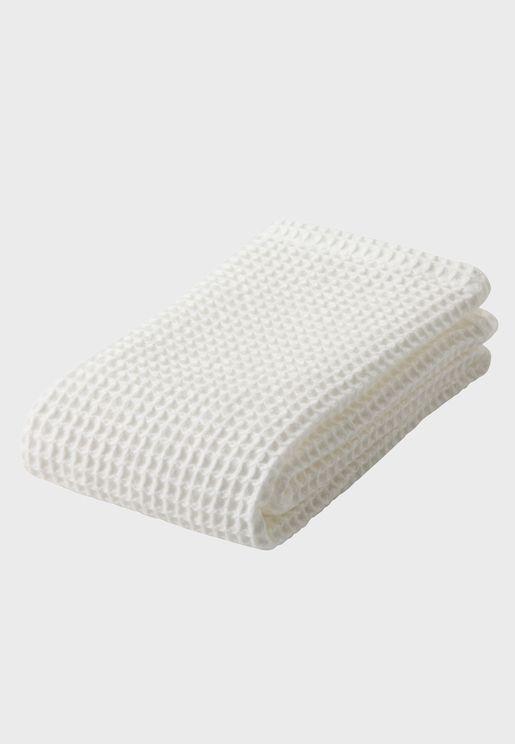 Organic Cotton Waffle Face Towel