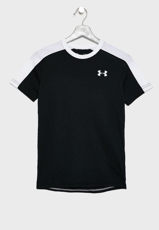 Youth Sportstyle Colour Block T-Shirt