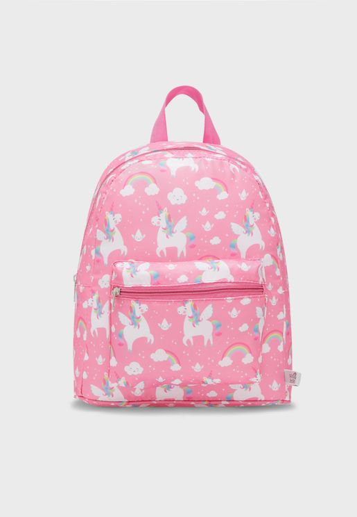 Kids Rainbow Unicorn Backpack