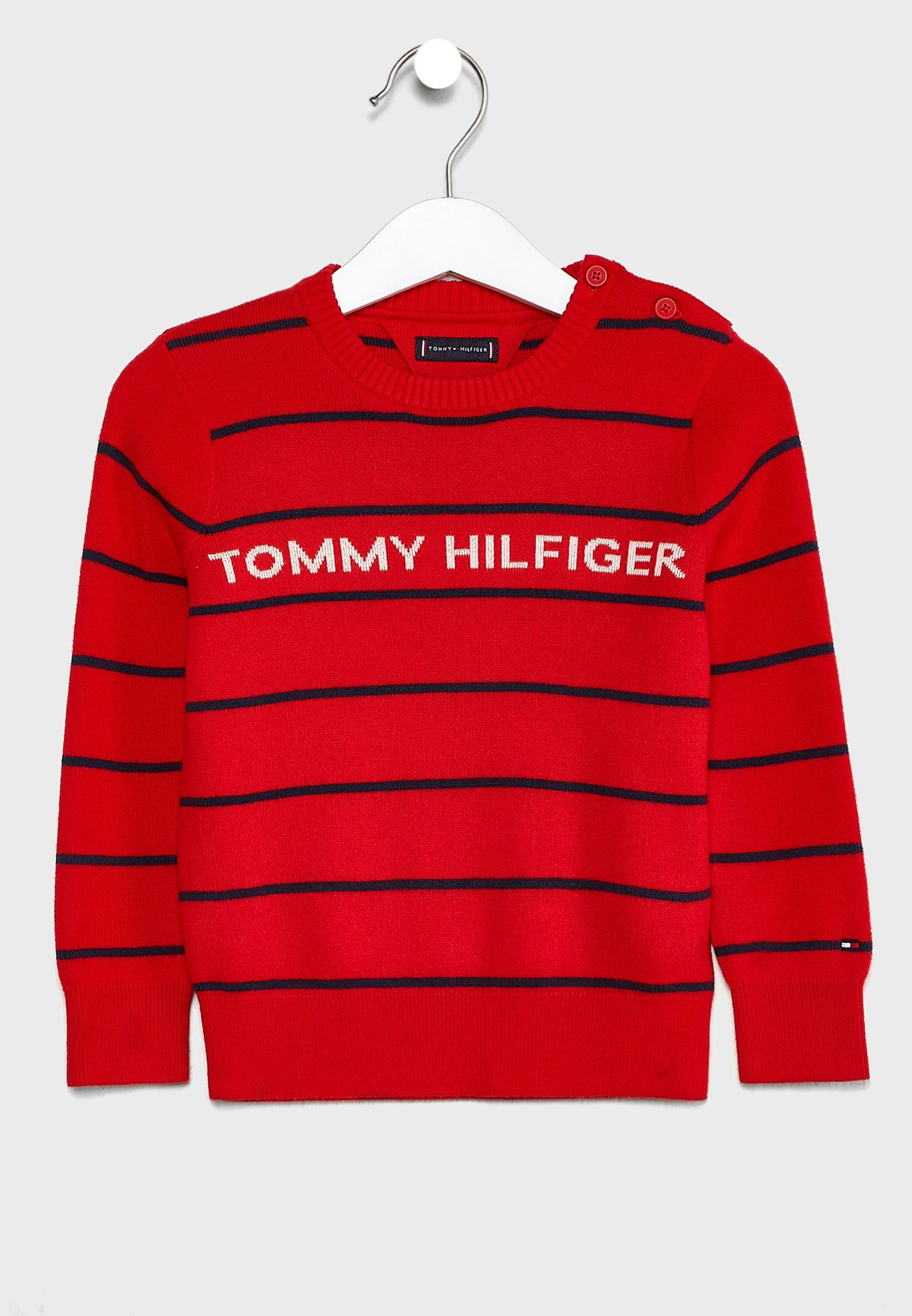 Kids Stipeed Sweater