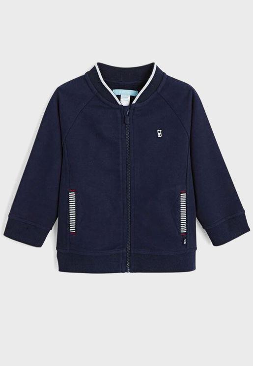 Kids Zipped Bomber Jacket