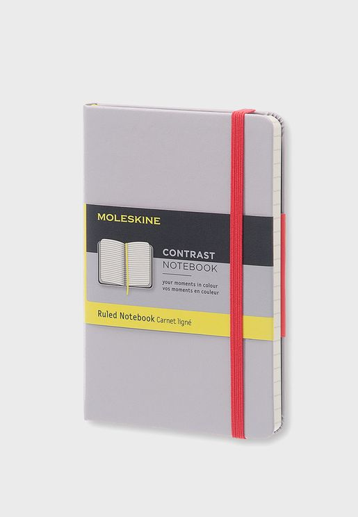 Contrast Pocket Ruled Limited Collection Notebook