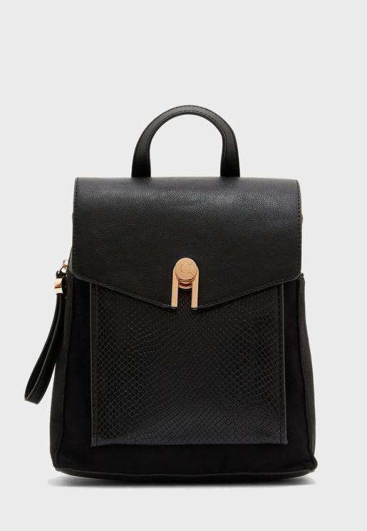 Flap Closure Backpack