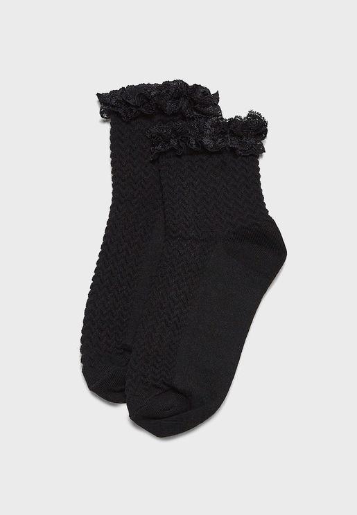 Kids Lace Core Sock