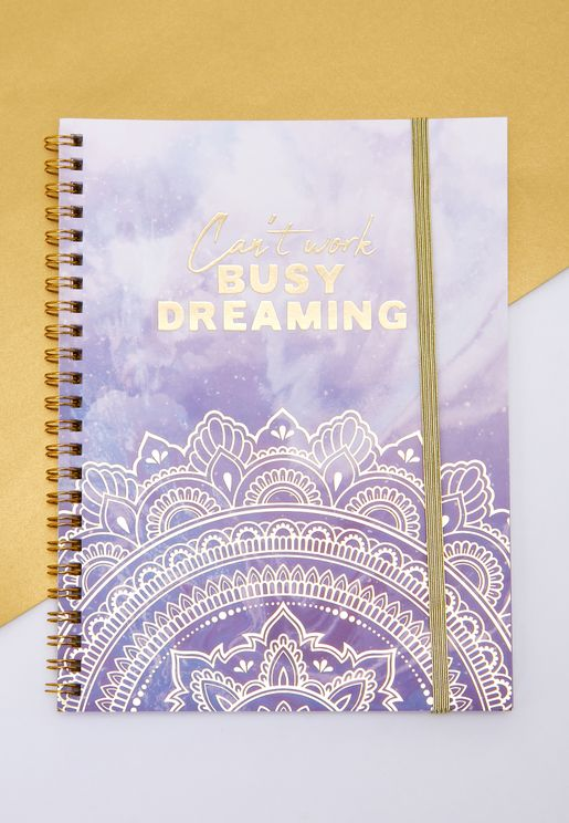 A5 Busy Dreaming Notebook
