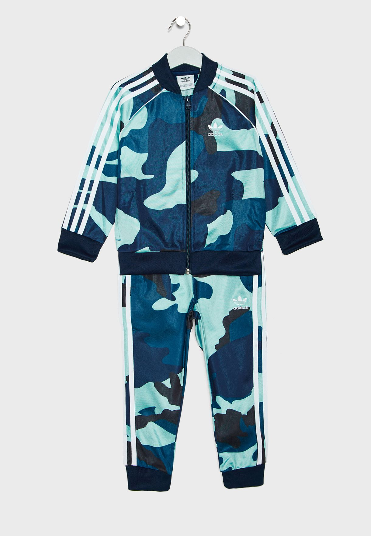 Kids Superstar Camo Tracksuit